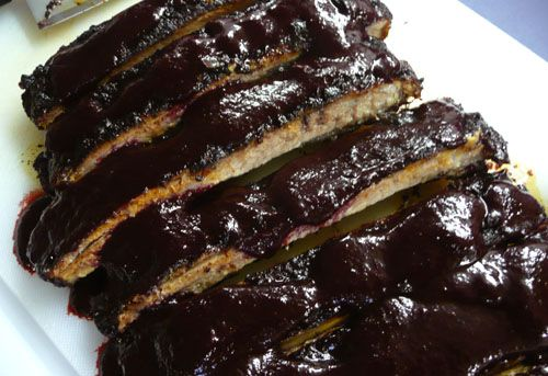 Best Ever Blackberry Ribs