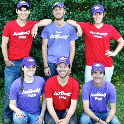An Agriberry Farm Harvest Crew