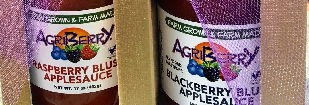 Farm Made Blush Applesauce with No Sugar Added