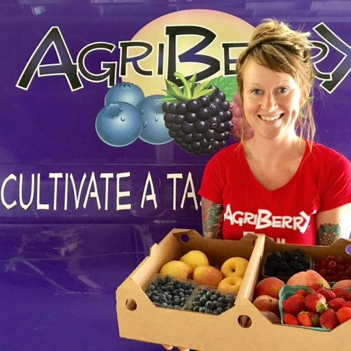 A Weekly Fruit Box from Agriberry Farm