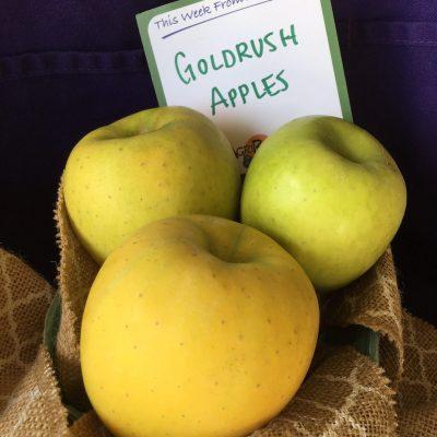 GoldRush Apples